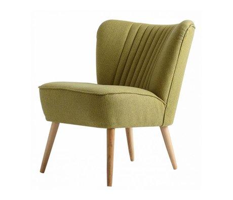 I-Sofa Lola Sessel hellgrün textile 60x51x71cm
