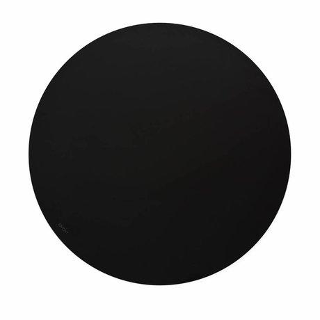 OYOY Chalkboard draw on me black Ø58x0,7cm