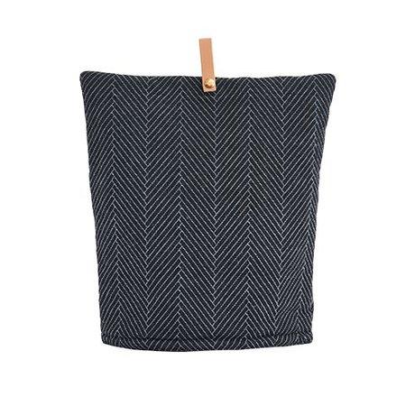 OYOY Gemütliche Momo dunkle Baumwolle 32x30cm