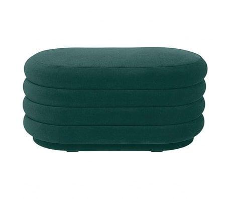 Ferm Living Powder green velvet 90x40x42cm