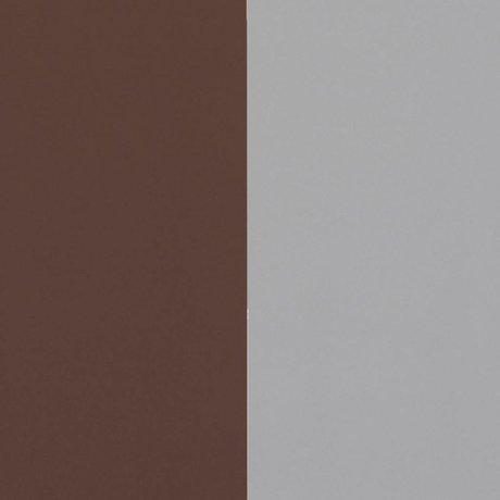 Ferm Living Tapete Dicke Linien Burgunder Rot Grau 53x1000cm