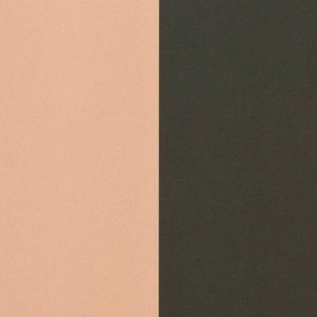 Ferm Living Dicke Linien Tapete grün pink 53x1000cm