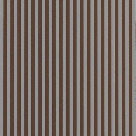 Ferm Living Tapete Dünne Linien Burgunder Rot Grau 53x1000cm