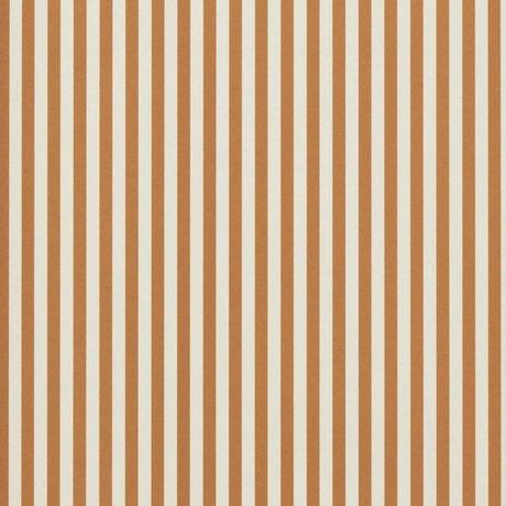 Ferm Living Tapete Dünne Linien Ocker cremeweiß 53x1000cm