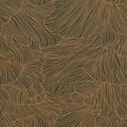 Ferm Living papier peint corail or vert foncé 53x1000cm