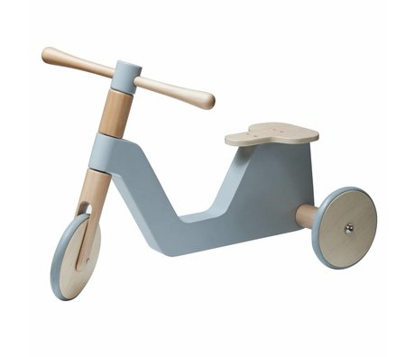 Sebra bébé bois gris scooter