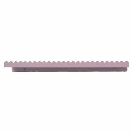 Eina Design Wall shelf plum purple metal 50x9cm