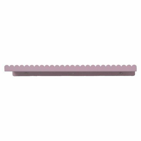 Eina Design Wandplank plum paars metaal 50x9cm