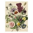 KEK Amsterdam Houten paneel Wild Flowers L 75x100cm