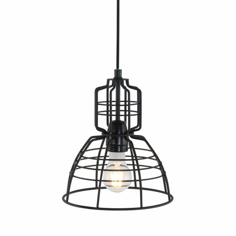 Anne Lighting Hanging lamp Anne MarkllI Mini black metal ø20x24cm