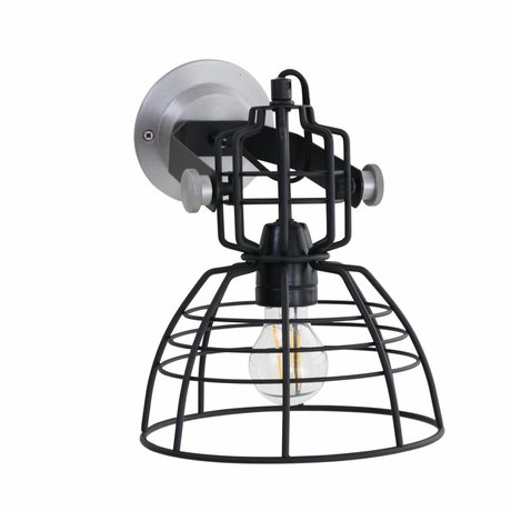 Anne Lighting Wall lamp Anne MarkllI Mini black metal ø22x24cm