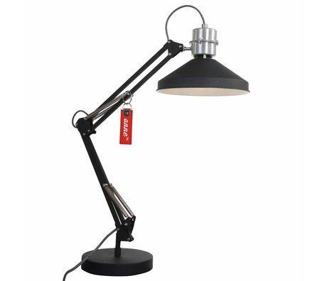 Anne Lighting Lampe de bureau Anne Zappa aluminium noir ø18x75cm