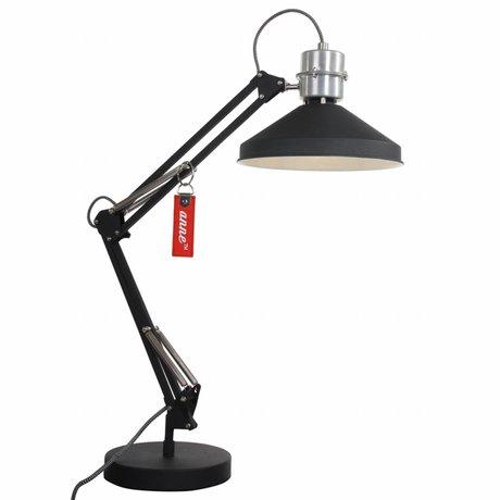 Anne Lighting Anne Zappa desk lamp aluminum black ø18x75cm