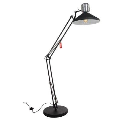 Anne Lighting Vloerlamp Anne Zappa aluminium zwart ø38,5x180cm