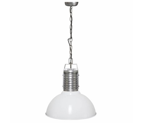 Anne Lighting Anne Philippe hanging lamp Oncle white aluminum ø50x192cm