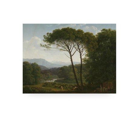 KEK Amsterdam Panneau en bois Paysage 80x60cm 3M