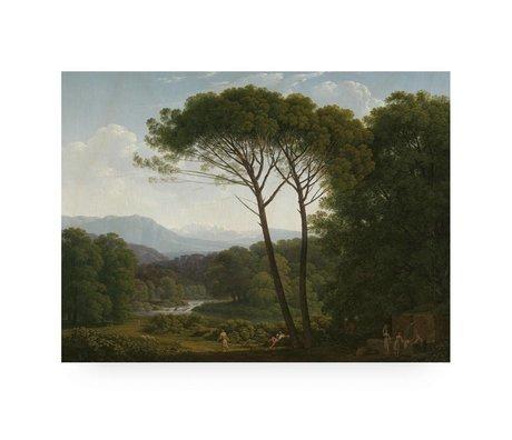 KEK Amsterdam Holzplatte Landschaft 3 L 100x75cm