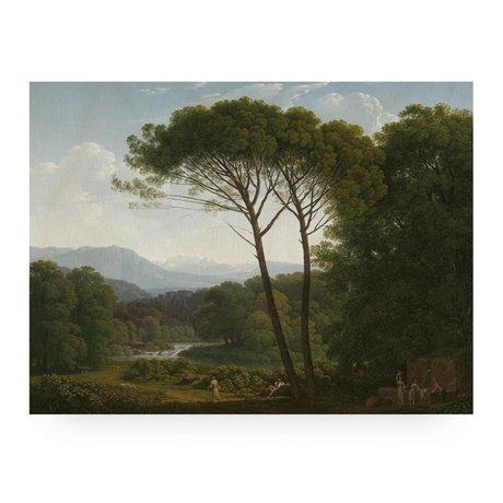 KEK Amsterdam Panneau de bois Paysage 3 L 100x75cm