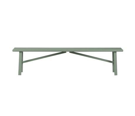 vtwonen Side by Side tabouret vert 37,5x160x30cm béton