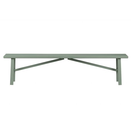 vtwonen Seat Side by Side green wood concrete 37,5x160x30cm