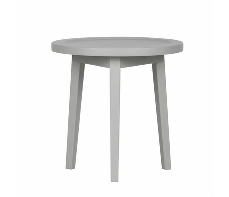 vtwonen Beistelltisch Sprokkeltafel grau Holz XS 45x45x45cm