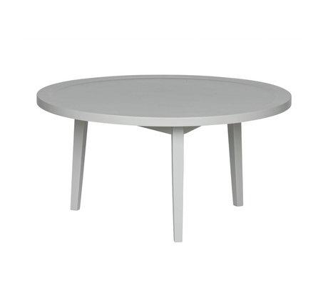 vtwonen Bijzettafel Sprokkeltafel grijs hout M 40x80x80cm