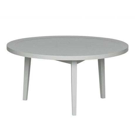 vtwonen Table d'appoint en bois gris Sprokkeltafel M 40x80x80cm