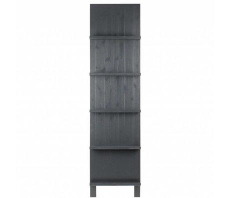 vtwonen Pronkrek zwart hout 215x56x10cm