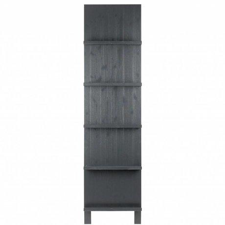 vtwonen Pronkrek black wood 215x56x10cm