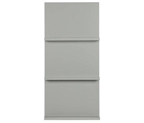 vtwonen Display rack hanging gray wood 120x56x10cm