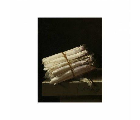 KEK Amsterdam Panneau en bois Asperges Glorieux alimentation S 45x60cm