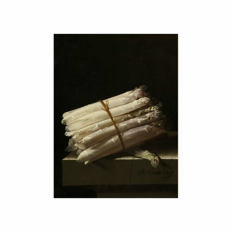 KEK Amsterdam Holzplatte Glorious Food Spargel S 45x60cm