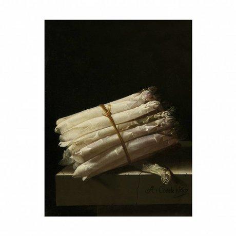 KEK Amsterdam Panneau en bois Asperges Glorieux Alimentation M 60x80cm