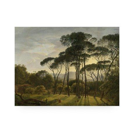 KEK Amsterdam Houten paneel Golden Age Landscape M 60x80cm