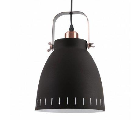Leitmotiv Suspension pendentif en métal noir se mêlent Ø26,5x19x26,5