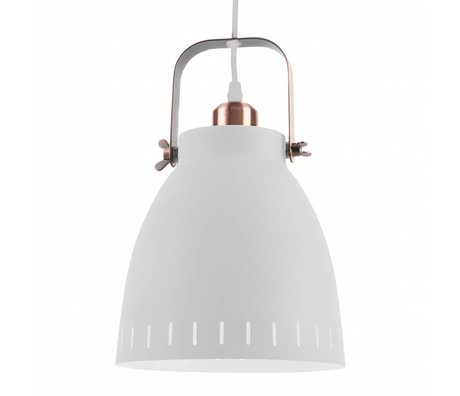 Leitmotiv Hanglamp pendant mingle white metal Ø26,5x19x26,5