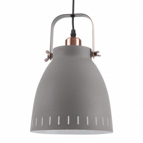 Leitmotiv Hanglamp pendant mingle grijs metaal Ø26,5x19x26,5