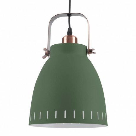 Leitmotiv Pendentif Lampe suspension se mêlent Ø26,5x19x26,5 métal vert