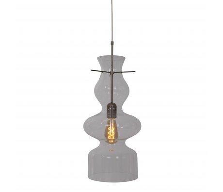 Anne Lighting Hanging lamp Chalise day & night transparent glass metal 21x165cm