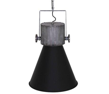 Anne Lighting Hanglamp Hoody zwart metaal 40x155cm