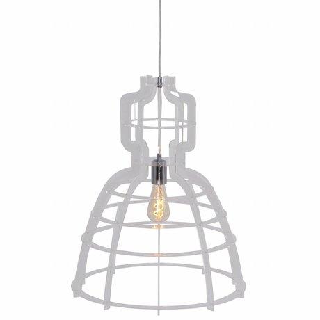 Anne Lighting Hanglamp MarkllI transparant kunststof metaal 49x152cm