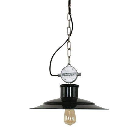 Anne Lighting Hanging lamp Millstone black metal 40x195cm