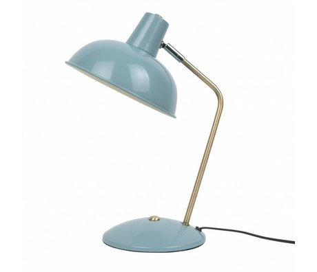 Leitmotiv Table lamp Hood light blue metal Ø19,5x37,5cm