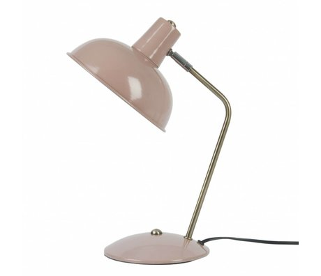Leitmotiv Table lamp Hood pink metal Ø19,5x37,5cm