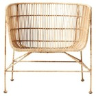 Housedoctor Chair Coon natural brown rattan 60,5x70x70cm