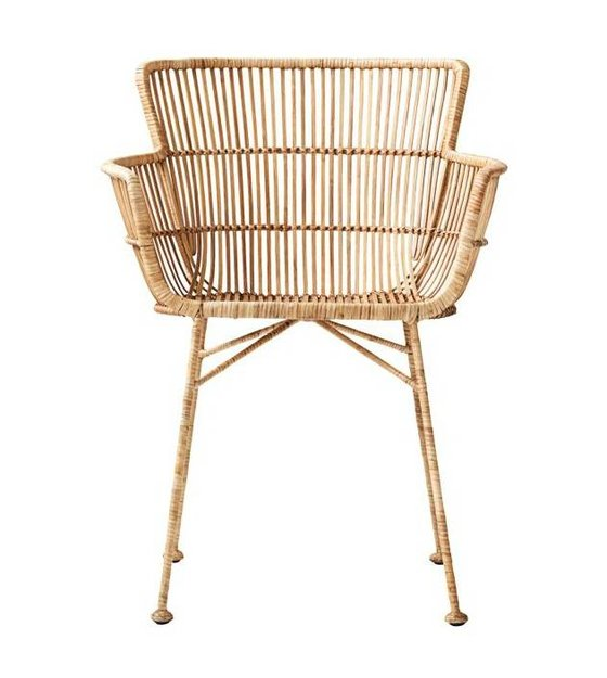 Astonishing Housedoctor Dining Chair Coon Natural Brown Rattan 60 5X80X62Cm Bralicious Painted Fabric Chair Ideas Braliciousco