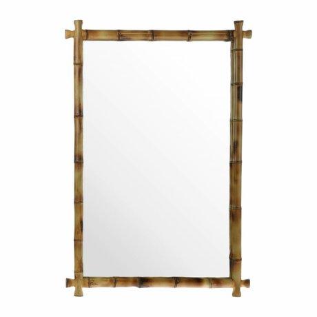 HK-living Miroir Bamboo 80x55x3cm