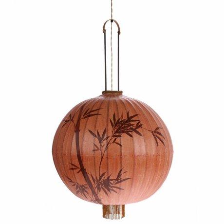 HK-living Lantern XL terracotta cotton 60x60x58 / 92cm