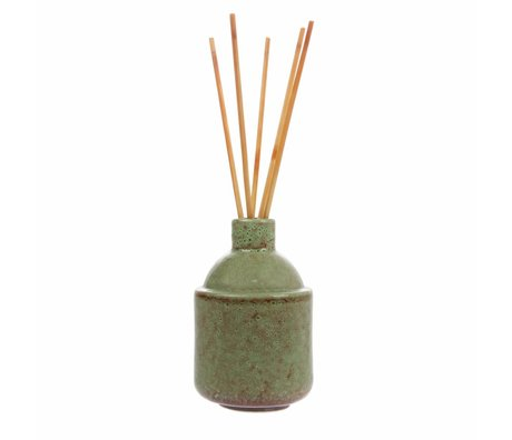 HK-living HK.8 Duft-Sticks: grün Blüte 8,5x8,5x13,5cm