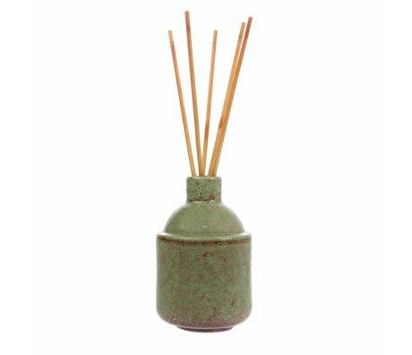 HK-living HK.8 Duftstäbchen: grüne Blüte 8,5x8,5x13,5 cm